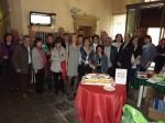 Il taglio della torta per i 20 anni di Linfa