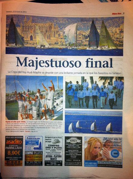 Prima pagina quotidiano