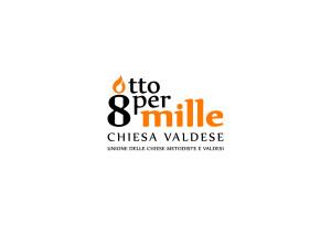 Logo 8xmille chiesa valdese