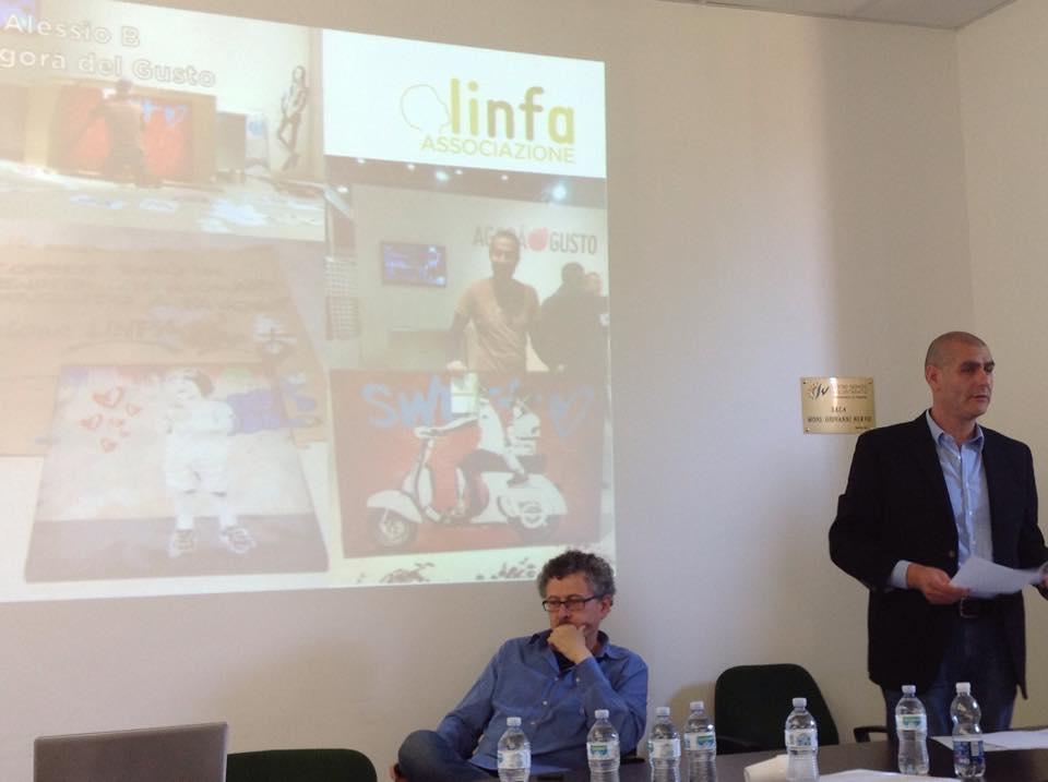 Il segretario Marcello Bressan presenta le attività di Linfa nel 2014