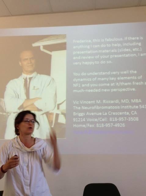 La dott.ssa Federica Chiara parla delle novità della ricerca sulle NF