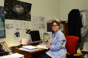Dottoressa Chiara nel suo studio