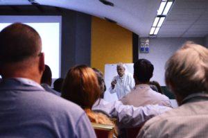 Il Prof. Vincent Riccardi